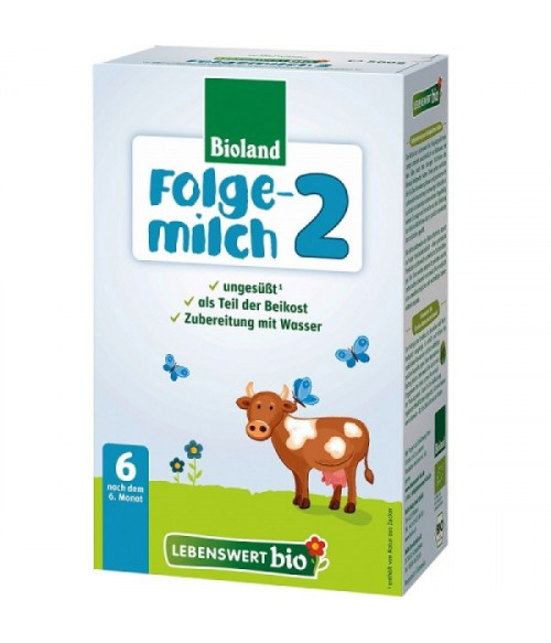 Lebenswert Stage 2 Organic (Bio) Follow-On Infant Milk Formula (500g) 6m+